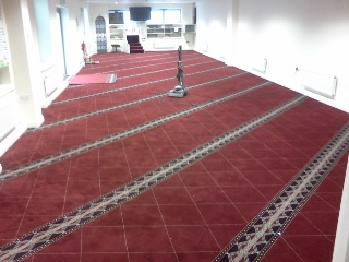Carpet Fitted in public building