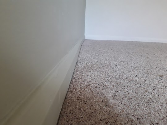 When we fit your carpet, we cut from the back giving your carpet a smooth edge finish. This also saves your skirting boards from nasty knife scores. We are not looking to do a quick job, just a professional one. If you need advice please call James.