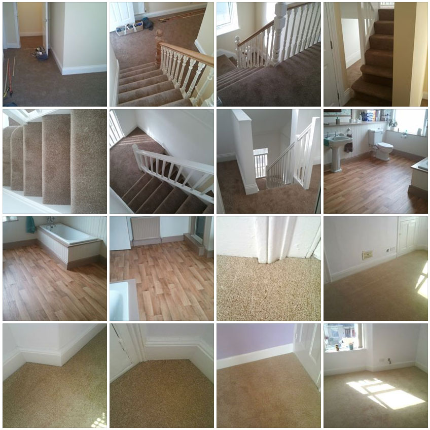 A few carpets and vinyls we have fitted in Plymouth recently.