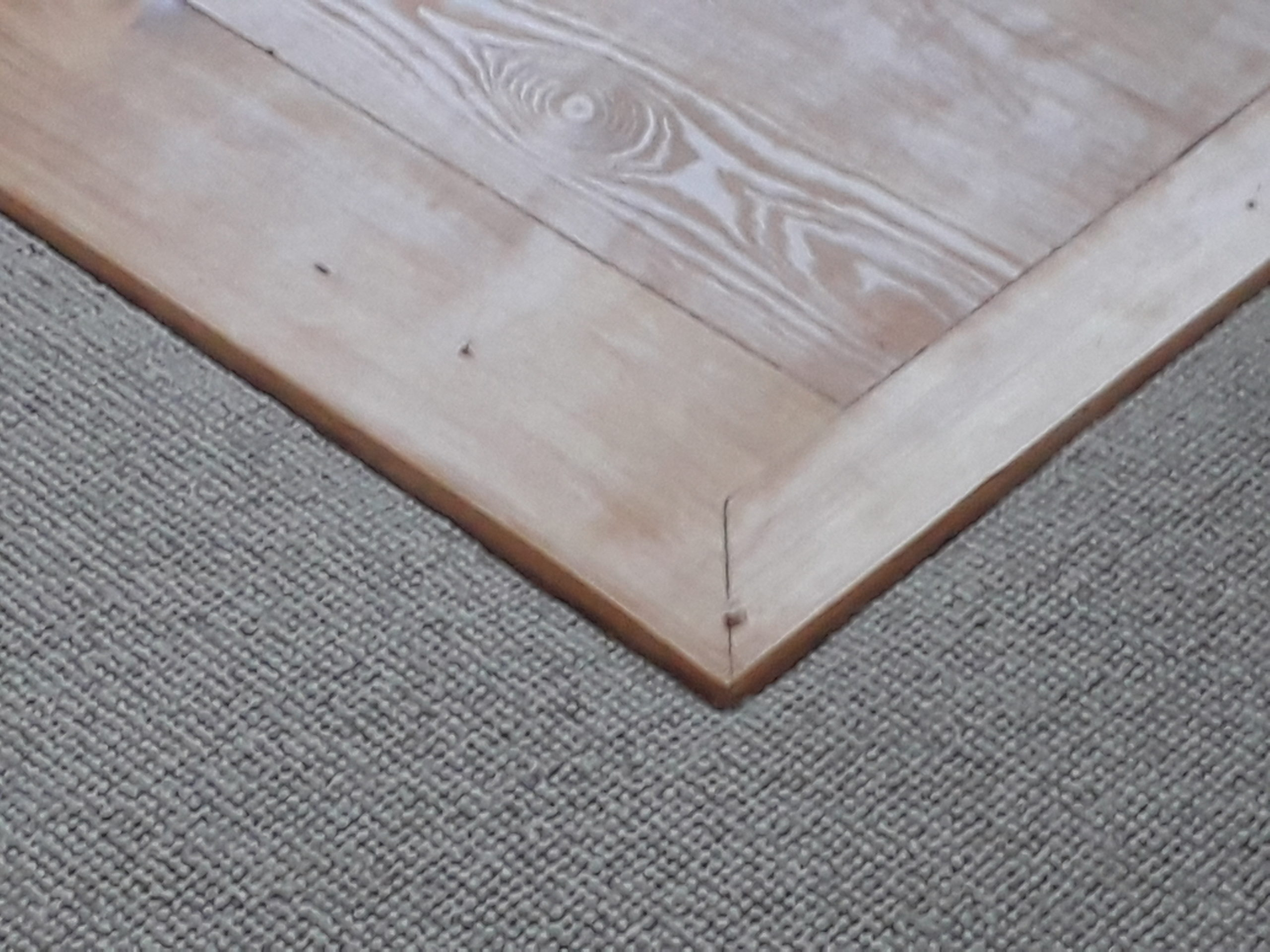 With care fitting around wooden features makes a really classy finish.